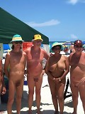 ::FAMILY NUDISM:: Nudist group pool photos from a private family naturist resort